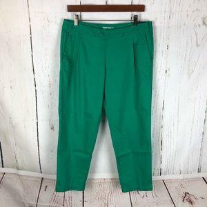 NIKE golf 8 kelly green cropped pants slim Delago